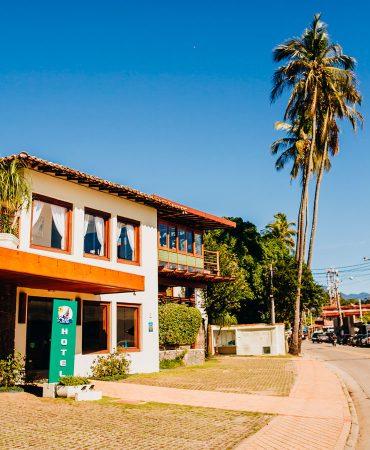 Fachada - Hotel Fita Azul Ilhabela