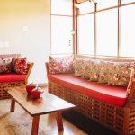 Área de estar - Hotel Fita Azul Ilhabela